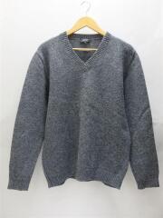 セーター(厚手)/1/ウール/GRY