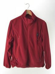 Micro Fleece Outing Jacket/17AW/フリースジャケット/XS/ポリエステル/レッド