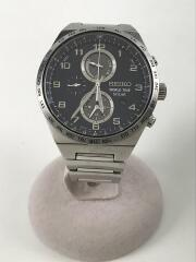SPIRIT SMART/ソーラー腕時計/アナログ/ステンレス/V195-0AE0