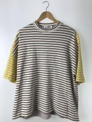 Tシャツ/Tee/M/コットン/マルチカラー/ボーダー/JSUO707015