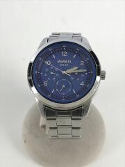 ソーラー腕時計/アナログ/ステンレス/シルバー/V14J-0CL0