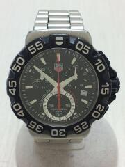 クォーツ腕時計/アナログ/ステンレス/ブラック/CAH1110/フォーミュラ/FX6574//クロノグラフ ダイバーズ FORMULA1