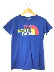 Tシャツ/L/コットン/ロゴ/青色/ブルー/半袖カットソー/NTW32113