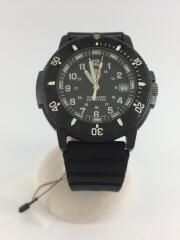 クォーツ腕時計/アナログ/ラバー/ブラック/黒/3000/3900/シンプル/デザイナーズ