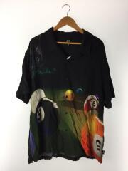 半袖シャツ/XL/レーヨン/ブラック/ストリート/セカンドストリート