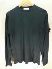 17aw L/S T-shirt/長袖Tシャツ/671520745/S/コットン/ブラック/黒/