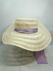 ストローハット/--/Sisol Bonnet Hat/13-41-0287-810