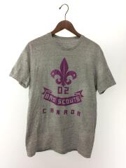 Tシャツ/M/コットン/グレー/18SS/インポート/セカンドストリート