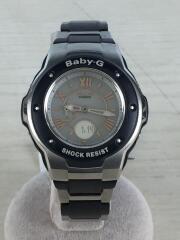 ソーラー腕時計/アナログ/ステンレス/シルバー/ブラック/銀/黒