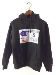 パーカー/S/コットン/BLK/18AW/Label Hooded Sweatshirt/セカンドストリート