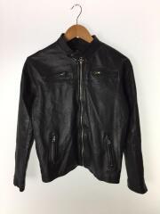 reworked leather/レザージャケット・ブルゾン/36/ブラック/セカンドストリート