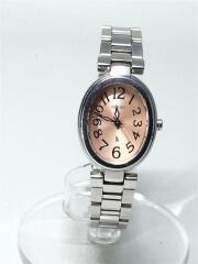 セイコー/クォーツ腕時計/アナログ/ステンレス/シルバー/ピンク/1NO1-OETO/レディース