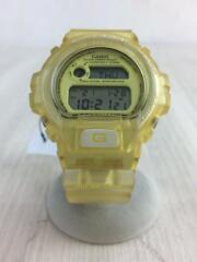 カシオ/ジーショック/クォーツ腕時計・G-SHOCK/デジタル/イエロー/黄色/DW-6910K