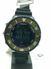 ソーラー腕時計/PROSPEX Fieldmaster×/デジタル/ラバー/SBEP039-BSM93