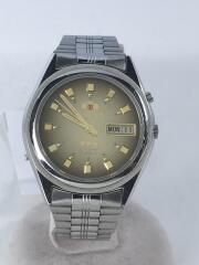 自動巻腕時計/アナログ/ステンレス/GLD/SLV