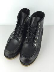 ブーツ/US7/BLK/レザー