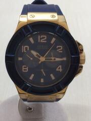 W0247G3/ RIGOR/リガー/クォーツ腕時計/アナログ/BLU