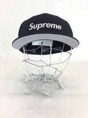 20SS/1M Metallic Box Logo New Era Cap/キャップ/7 1/4/BLK