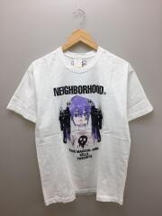 20SS JUN INAGAWA/201PCJIN-ST01S/Tシャツ/L/コットン/WHT/ホワイト