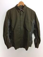 Nylon Twill x Cotton Shirt/20-02357M/ミリタリージャケット/2/カーキ
