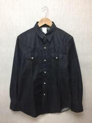 Cherokee/ウェスタンシャツ/S/コットン/IDG/CH2