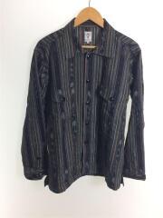19AW/Smokey Shirt Cotton Cloth Ikat Pattern/長袖シャツ/S/FK837