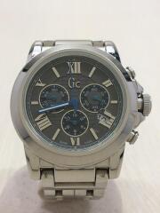 クォーツ腕時計/アナログ/ステンレス/BLU/SLV/X41002G5/キズ有