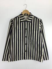 ジャケット/1/コットン/NVY/ビッグポケットシャツブルゾン/408150007