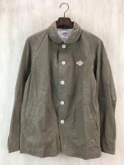 カバーオール/40/コットン/KHK/15S-SL-003/15SS/ラウンドカラーワークジャケット