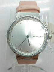 クォーツ腕時計/アナログ/レザー/SKW2753/レディース