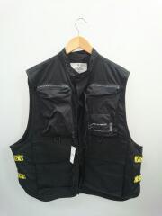 seavice vest/ナイロンベスト/M/ポリエステル/0578565/メンズ/フィッシングベスト