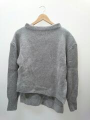 セーター(厚手)/レディース/ウール/ニット/スリット