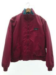ナイロンジャケット/RED/80s/ウォームアップジャケット