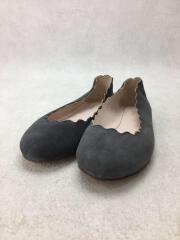 Chloe クロエキッズ靴/フラットパンプス/指定外繊維/GRY