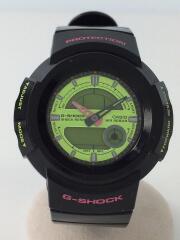 クォーツ腕時計・G-SHOCK/AW-582SC-1AJF/2009年式/デジアナ/ラバー/BLK/