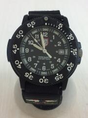 クォーツ腕時計/アナログ/BLK/3001/LUMINOX