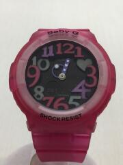 クォーツ腕時計・Baby-G/デジアナ/PNK/PNK