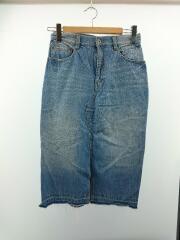 スカート/38/コットン/IDG/17年モデル/チェリーワッペン