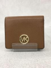 2つ折り財布/--/BRW/無地/M-1904/ MICHAEL KORS