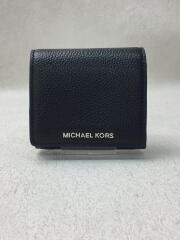 3つ折り財布/--/BLK/無地/32H8TF6D2L1203/コインフラップ
