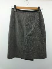 スカート/3/ウール/GRY/ストライプ/MHW0651/MARGARET HOWELL