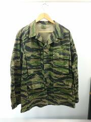 ミリタリージャケット/L/コットン/GRN/カモフラ/8415-01-390-8550/ US.ARMY