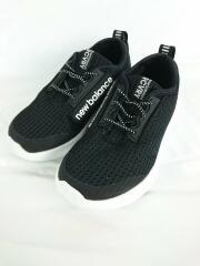 NEW BALANCE/ニューバランス/キッズ靴/17cm/スニーカー/ブラック/セカスト/中古