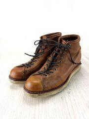ブーツ/26.5cm/BRW/レザー