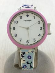 ケイトスペード/クォーツ腕時計/アナログ/パーク ロウ フローラル