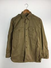 長袖シャツ/14.5/コットン/BEG/MIL-S-3011A/40S~50S
