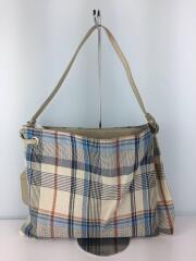 トートバッグ/--/マルチカラー/チェック/paper madras dressed bag