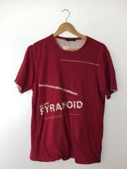 PYRANOID/Tシャツ/S/コットン/RED