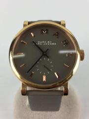 クォーツ腕時計/アナログ/レザー/MBM1266