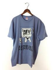 19AW/QUEEN TEE/Tシャツ/XL/コットン/BLU